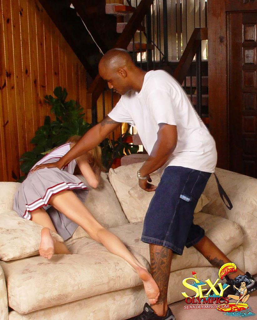 black guy spank